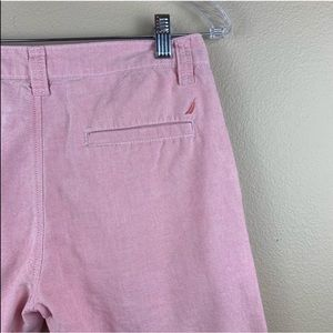 • Nautica • Boys Pink Linen Cotton Shorts